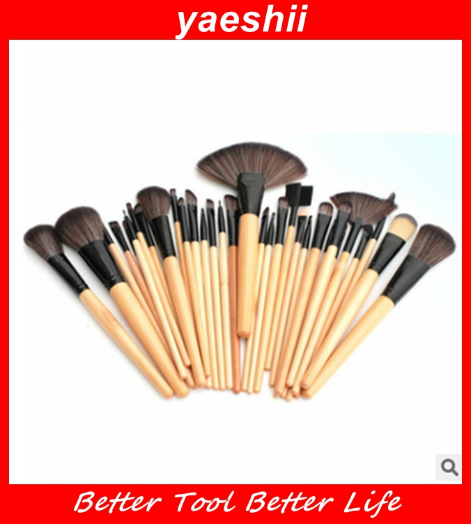 YEASHII 2016 New brush angel 32pcs Professional makeup Brushes Set