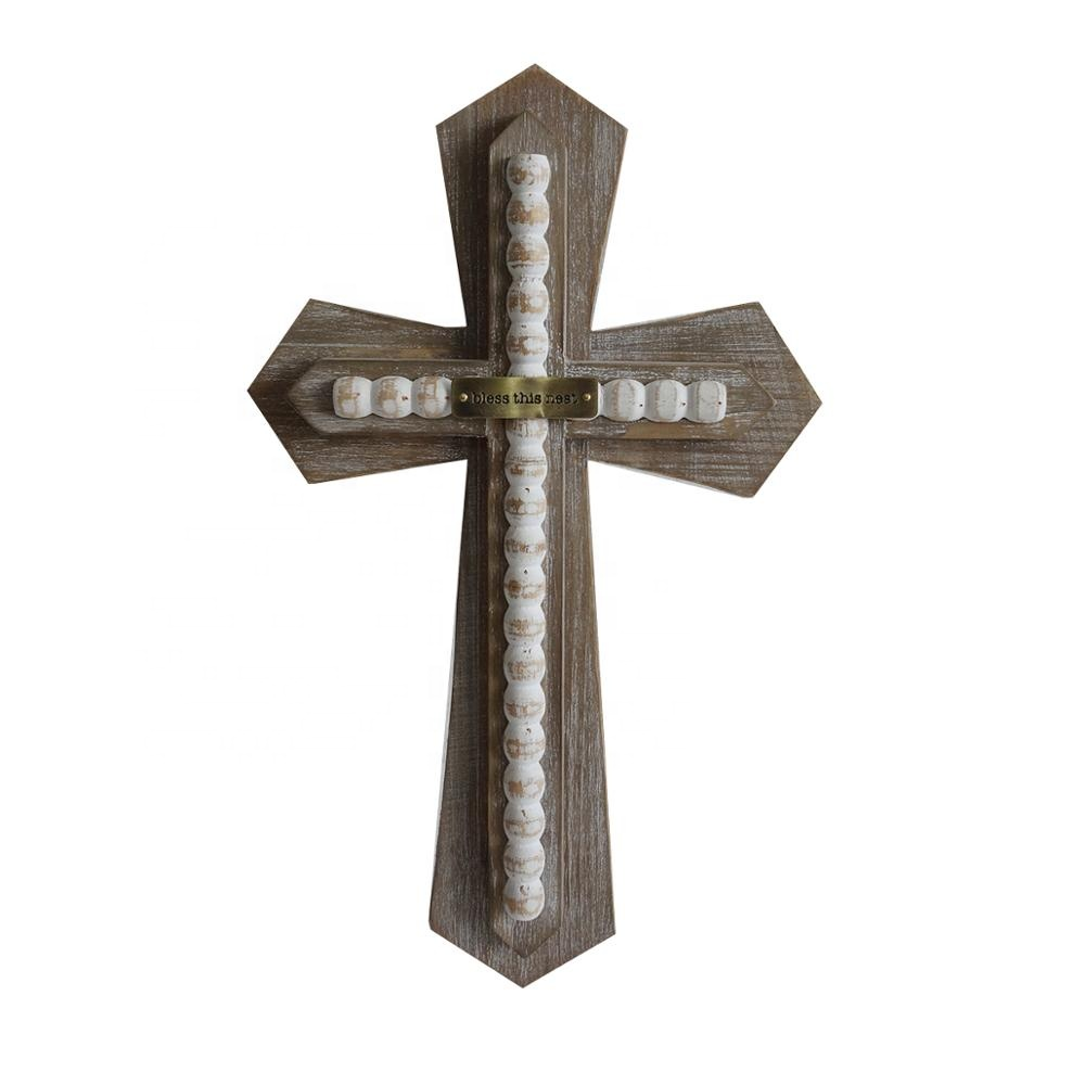 Decoration Customized <strong>Wood</strong> Design Cross Handmade Cross for Religious