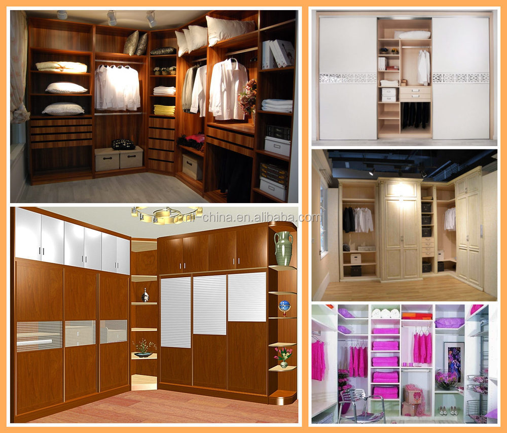 Latest cheap wall bedroom wardrobe designs closets cabinet for Room kabat design
