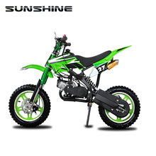 Portable 16 inch rims 50cc gas powered mini dirt bike graphics kits