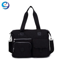 Waterproof wholesale beautiful nylon shoulder style fashion trendy womens casual leisure ladies tote bag handbag