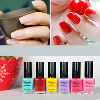 Environmental oil/water based scent BK peel off nail polish