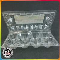 Eight Pcs Cheap Disposable Plastic Egg Tray
