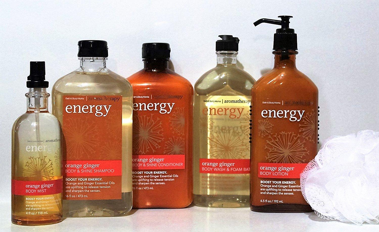 Buy Bath Amp Body Works Ndash Aromatherapy Ndash 6 Piece Set Orange Ginger Body Mist Body Amp Shine Shampoo Body Amp Shine Conditioner Body Wash Amp Foam Bath Body Lotion
