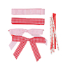High quality baby hair bows decoration cake prices red ribbon with great price