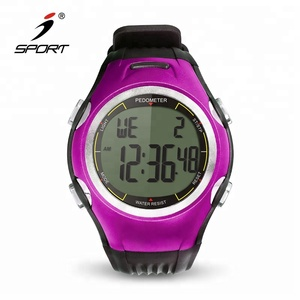 China Wholesale Calorie Counter 3D Accurate Pedometer Fitness Watches Counting Steps for Running/Walking