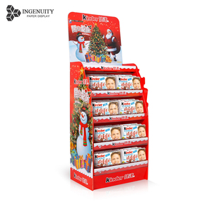 Retail carton paper display stands for accessories