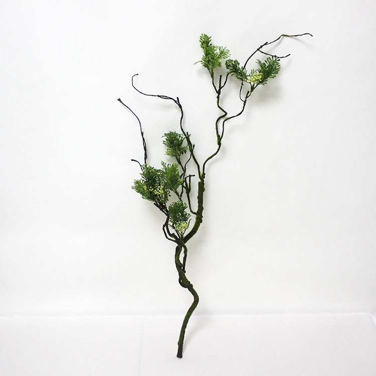 Decorative Artificial Plants With Preserved Moss Plastic Tree