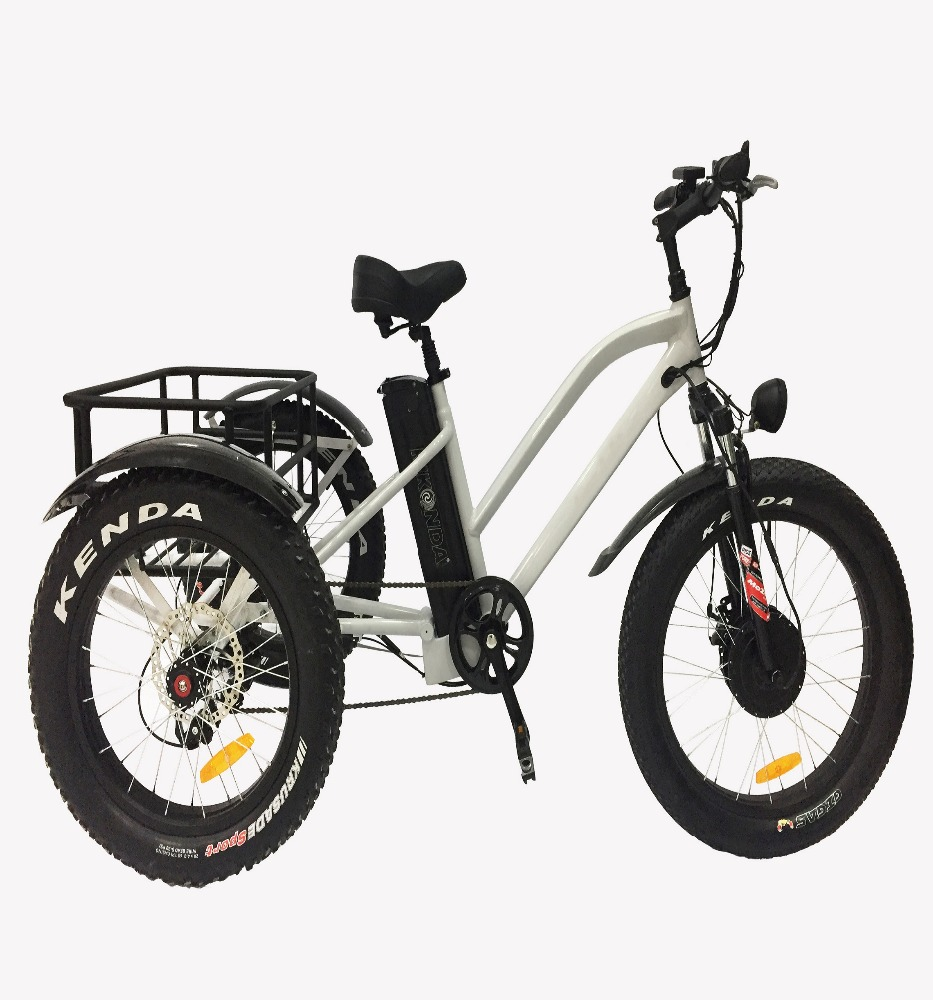 48V 500W Powerful Engine Off road E-tricycle for sale