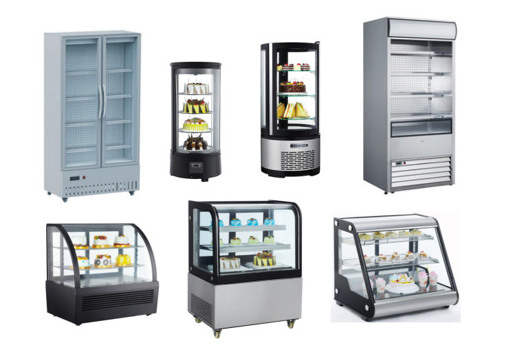 100L High Quality Commercial Bakery Freezer Cake Display