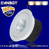 Customized COB LED ceiling light / led down light 7W, 10W, 15W, 20W,30 (CB certificate)