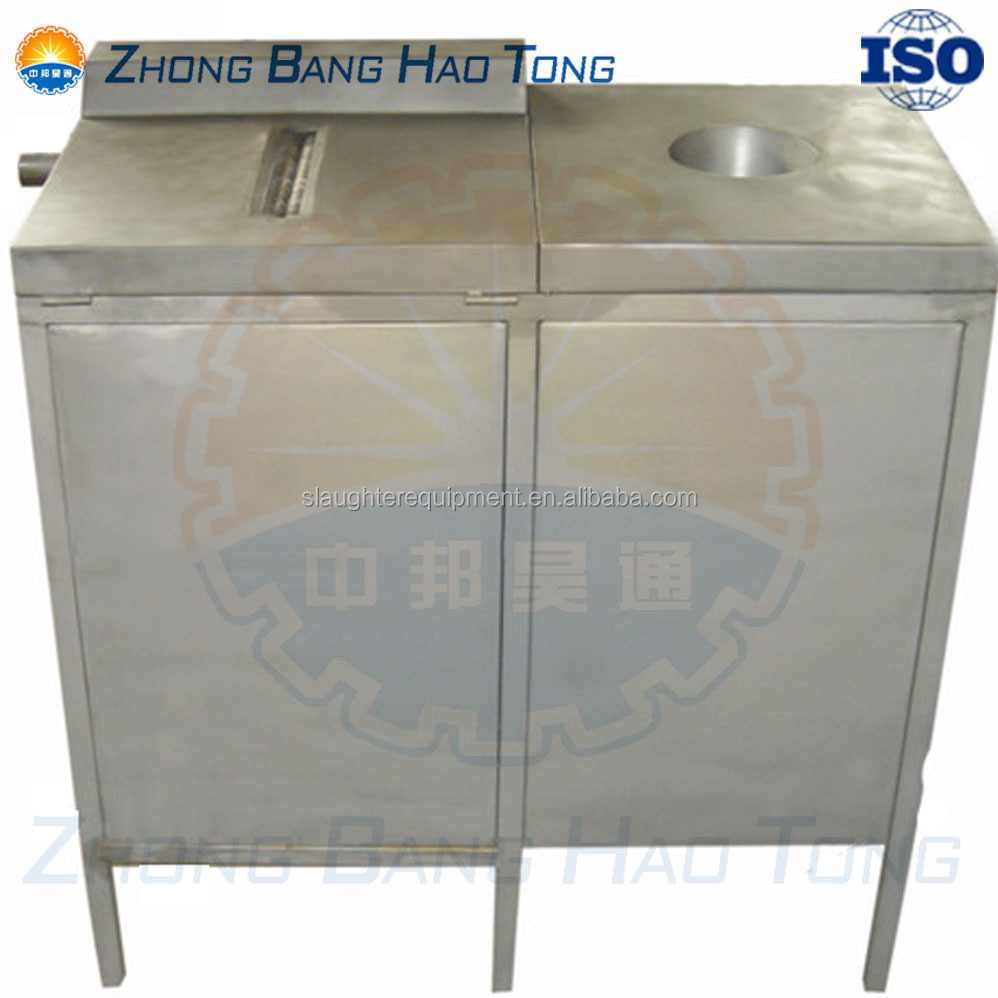 gizzard peeling machine for poultry slaughterhouse