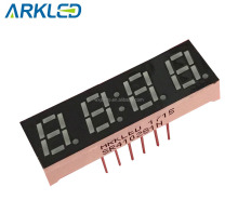 thin digital clock led 7 segment module