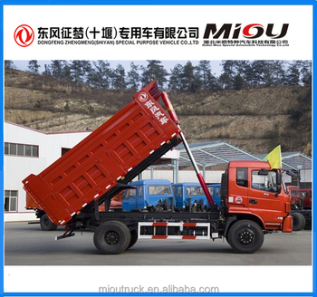 Top Level Dongfeng 4*2 Man Diesel Tipper