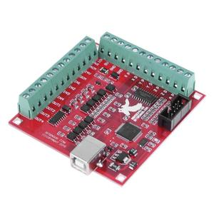 CNC MACH3 Breakout Board 4 USB Interface 100Khz Driver Motion Controller  Card with USB Cable