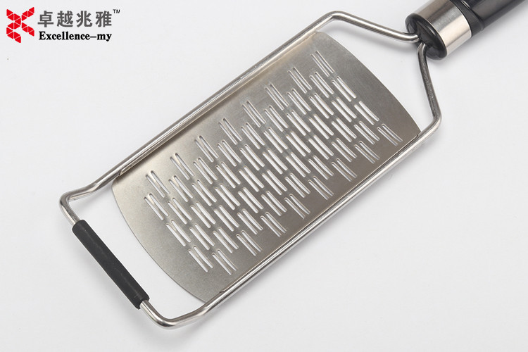 Amazon Hot Selling Cooking Tools Kitchen Gadgets Plastic Handle Stainless Steel Vegetable Grater