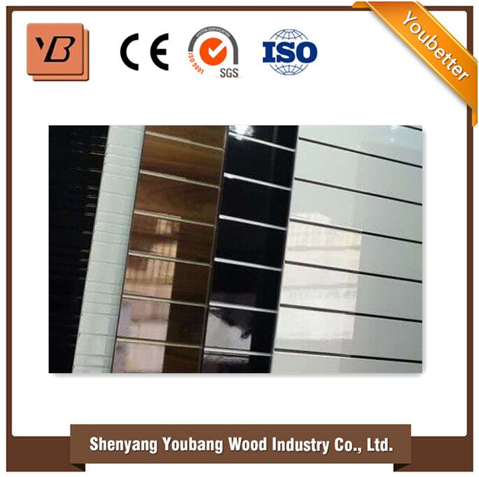 Wood Grain Melamine Parper Laminated