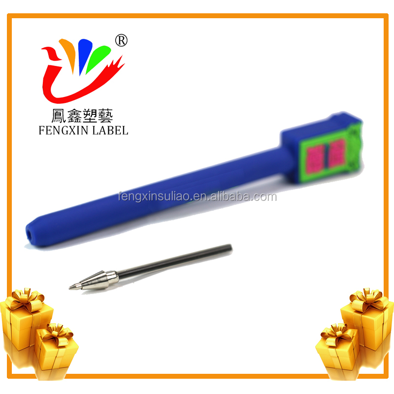 PVC custom promotional ball pen with logo