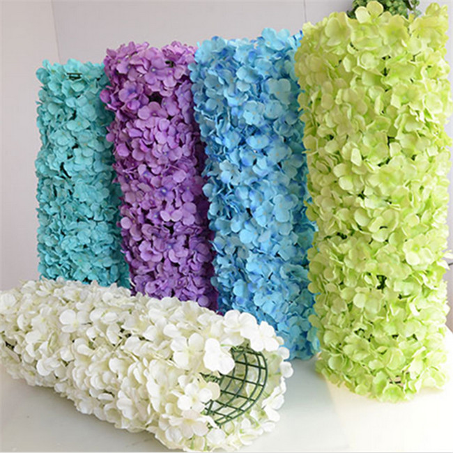 Manufacture of silk artificial flowers wall , flower wall backdrop for weddings <strong>decoration</strong>