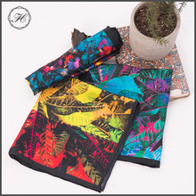 Custom Silk Manufacturers Colorful Bandanas Custom Brand Silk Scarves Italy