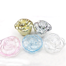 Clear plastic rose gift box party favor wedding favor plastic candy box