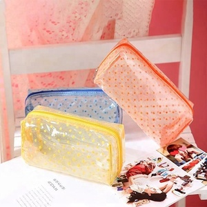 Newest Very Cheap transparent pvc bag for cosmetics