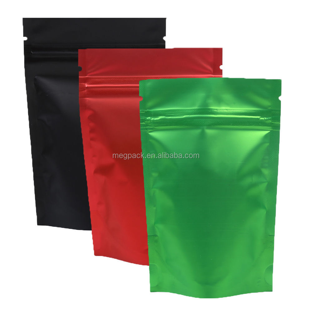 food grade plastic Foil zipper bag