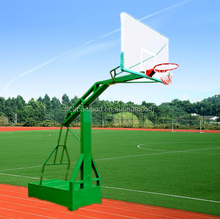 Fiba Level Manual Hydraulic Basketball Equipment/stand/system/goal