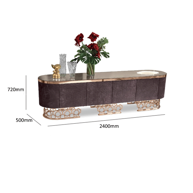 new model TV stand wooden furniture tv showcase flower stand home decoration cabinet