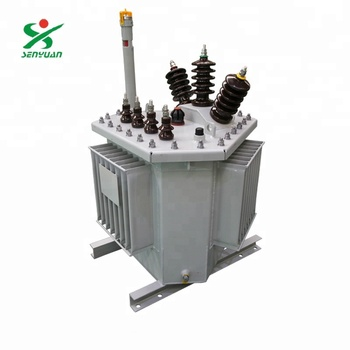 10kV Three - dimensional Core Body Liquid - Immersed Distribution Transformer Oil - immersed 3D Ring core