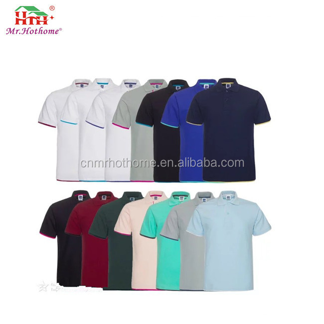 custom polo t shirt with your company logo embroidery designs