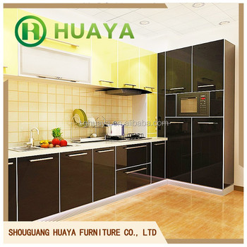 High gloss acrylic kitchen cabinet/modern kitchen prices