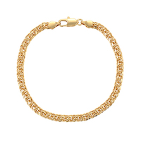 75479 xuping fashion 18k gold no stone bracelet for men and women