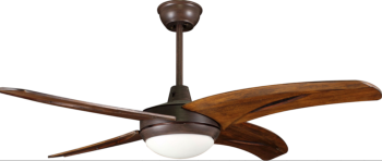 Elegant Design Decorative Wood Blade Ceiling Fan