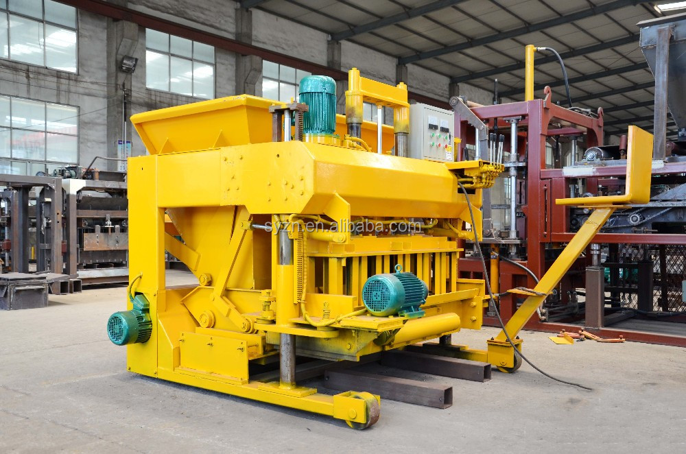 Qmy6-25 Mobile Block Moulding Machine Prices In Nigeria ...