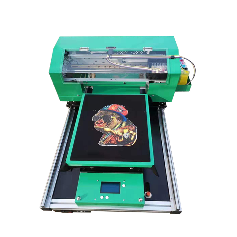 Direct Naar Kledingstuk 3D T-shirt Drukmachine