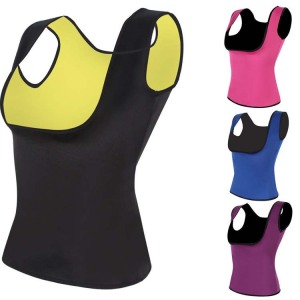 Slimming Neoprene Vest Sweat Shirt Body Shapers sweat band latex body Training Belt waist trainer shapers