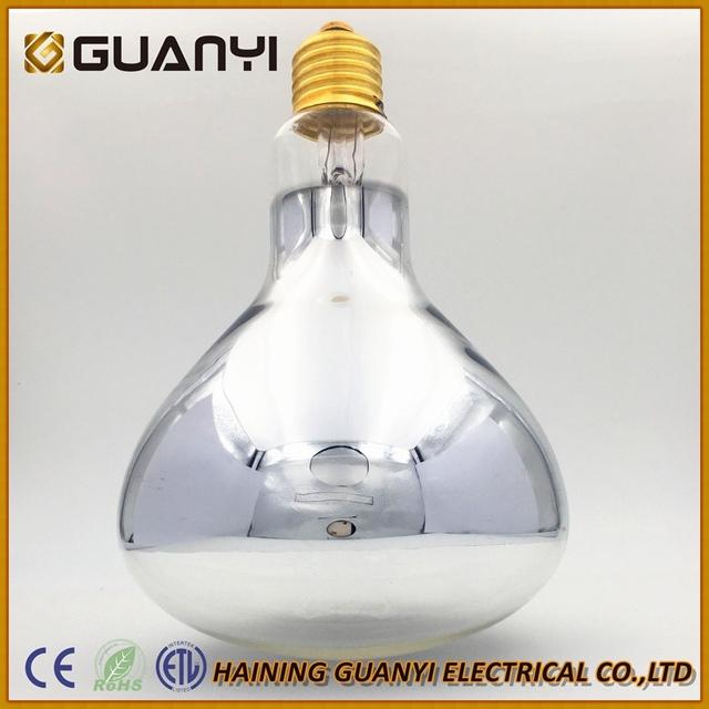 R125 Clear Color 250 Watt Heat Lamps