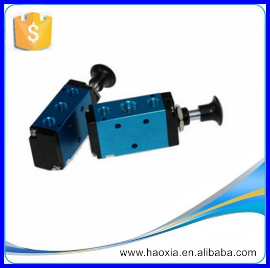 "2 Way 5 Port 1/4"" Pneumatic Valve Mechanical Valve hand lever valve 4R210-08"