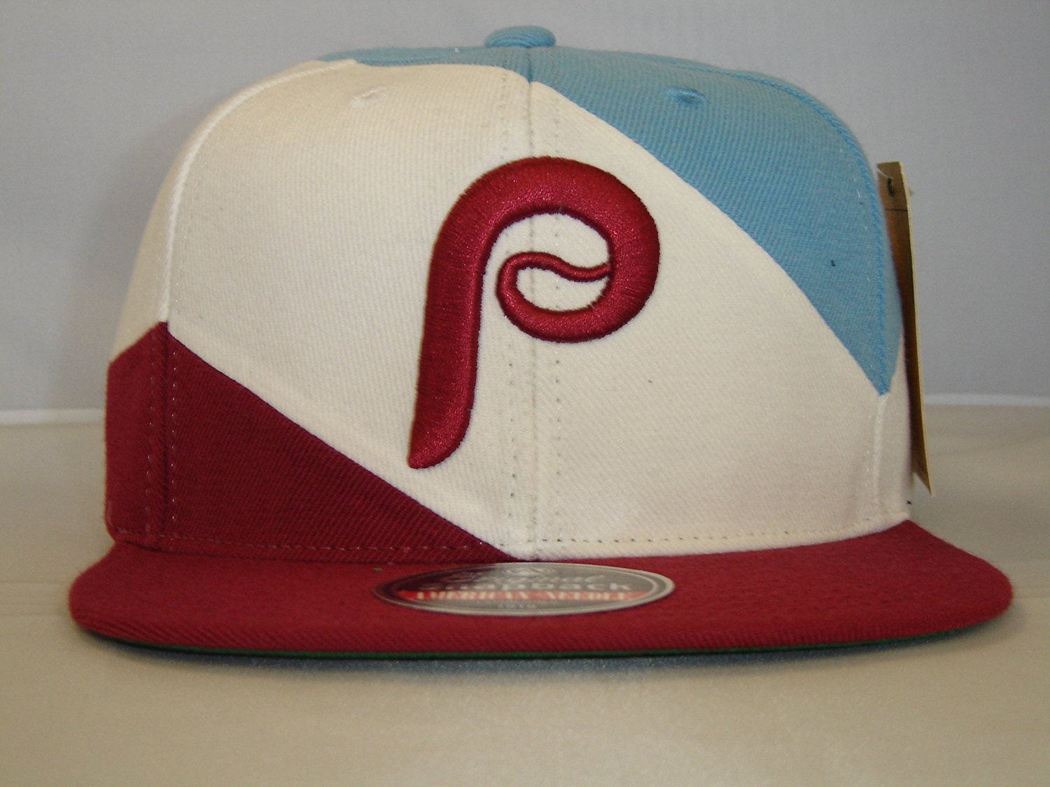 82b0b89a148 Get Quotations · MLB Philadelphia Phillies Trio Custom Retro Snapback cap