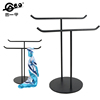 /product-detail/high-quality-and-fashion-metal-scarf-rack-scarf-display-stand-stainless-steel-two-shelf-to-display-616784681.html