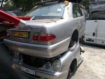 Good Mercedes Benz Half Cut For Set Parts