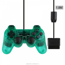 Preto Wired Controller Para <span class=keywords><strong>PS2</strong></span> Dupla Vibração Gamepad <span class=keywords><strong>Controlador</strong></span> Joystick Gamepad Para Playstation 2 <span class=keywords><strong>PS2</strong></span> <span class=keywords><strong>Controlador</strong></span>