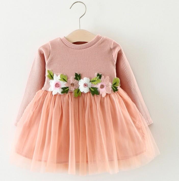 3 Jahre Altes Mädchen Stilvolle Hochzeit Kleid Kinder Net Kittel ...