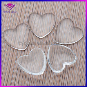 Wholesale/Customize/Factory price loose clear glass gemstone