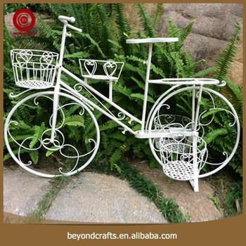 Jardin Décoration En Métal Vintage Vélo Support De Pot De Fleurs ...