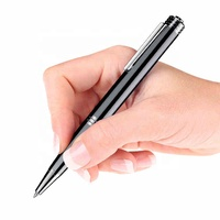 Spy Voice Activated 8GB 20 Hours Continuously Audio Recording Hidden Digital Pen Audio recorder