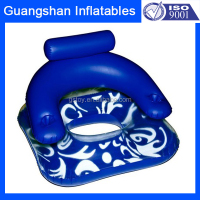 Pool Beach inflatable water floating chair with holders
