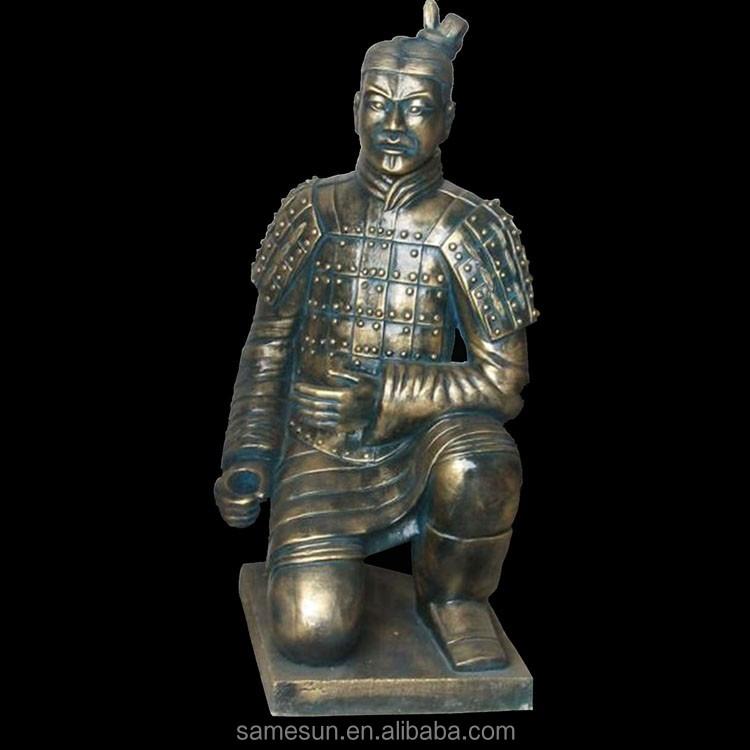 Chinese Ancient Terracotta Warrior Garden Statue
