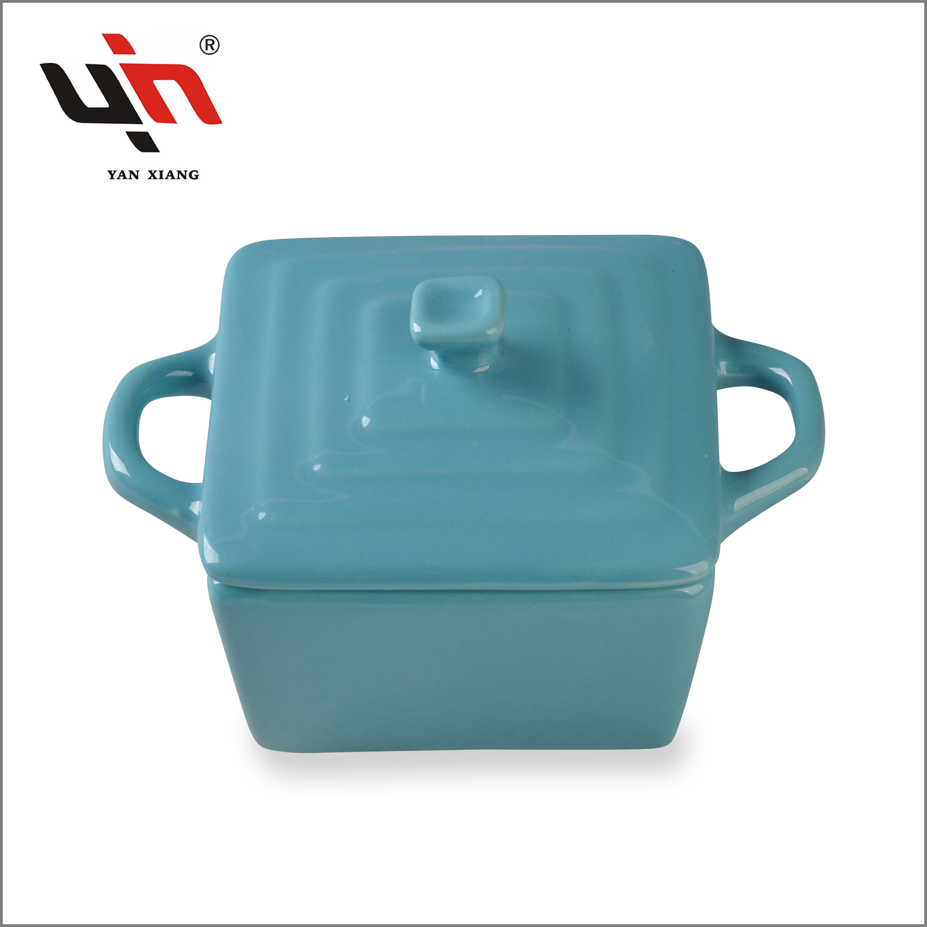 Tableware Ceramic Ceramic Casserole With Handles Factory sale Yanxiang porcelain